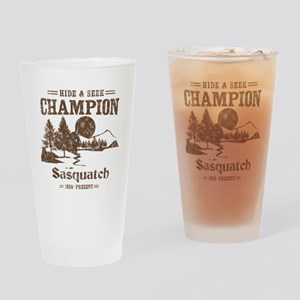 Hide & Seek Champion Sasquatch Drinking Glass